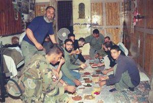 العشاء الأخير لمقاتلي مخيم جنين.